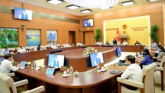 Ngày 22-2, UBTVQH sẽ điều chỉnh về cơ cấu, số lượng người ứng cử ĐBQH khóa XV
