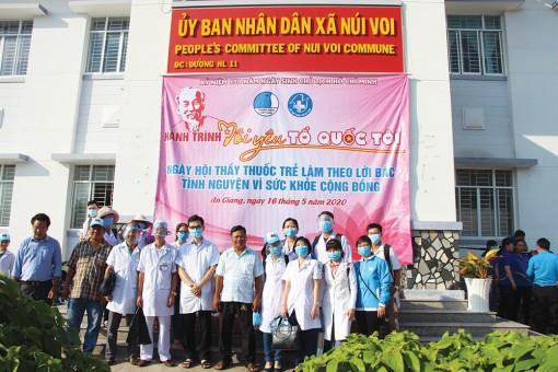Hội Thầy thuốc trẻ tỉnh An Giang vì sức khỏe cộng đồng