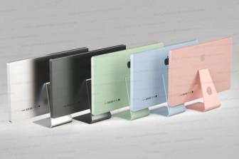 iMac tiếp theo sẽ có cùng màu với iPad Air