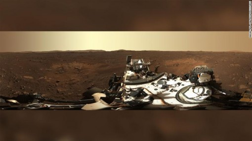 Ngắm Sao Hỏa qua bức ảnh toàn cảnh 360 độ