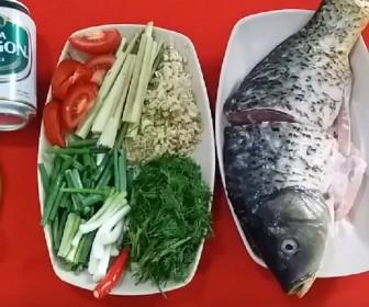 Món ngon cuối tuần: Cách làm cá hấp bia