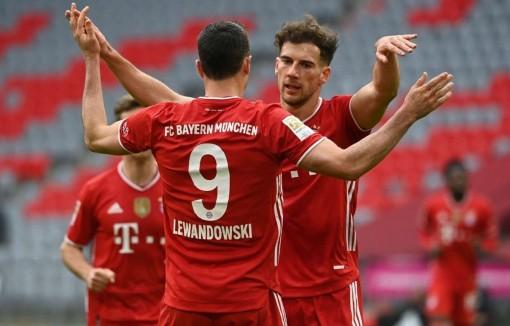 Bundesliga: Bayern mừng sinh nhật ý nghĩa, Leipzig thắng ngoạn mục