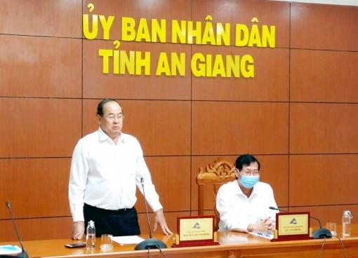 Kết luận của Chủ tịch UBND tỉnh An Giang Nguyễn Thanh Bình tại buổi họp trực tuyến phòng, chống dịch COVID-19