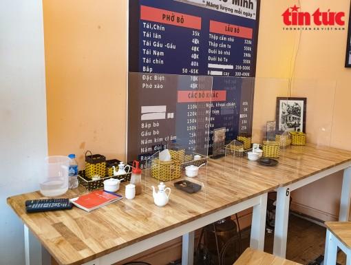 Hà Nội: Quán ăn, cà phê trong nhà mở cửa trở lại từ 0 giờ ngày 2-3