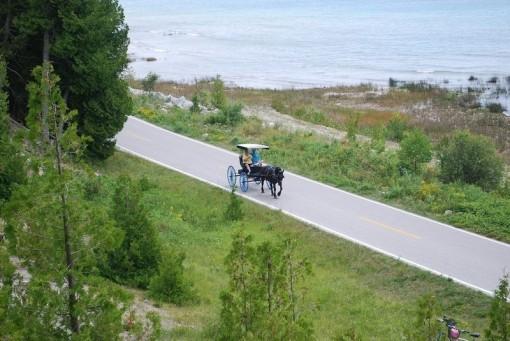 'Cao tốc' duy nhất chỉ dành cho xe đạp, xe ngựa kéo ở Mỹ
