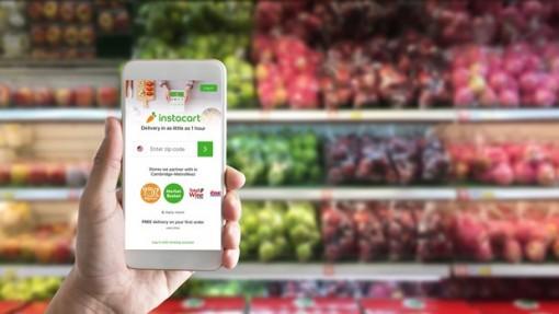 Mỹ: Startup dịch vụ giao hàng Instacart được định giá 39 tỷ USD