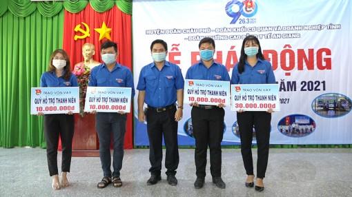Tuổi trẻ Châu Phú hưởng ứng Tháng Thanh niên năm 2021
