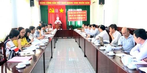 HĐND tỉnh An Giang giám sát công tác tổ chức bầu cử ở huyện An Phú