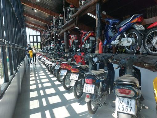 Đam mê sưu tập hơn 500 chiếc xe máy biển kiểm soát số đẹp