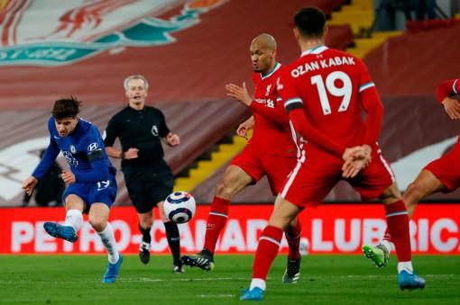 Chelsea hạ gục Liverpool nhờ siêu phẩm của Mason Mount