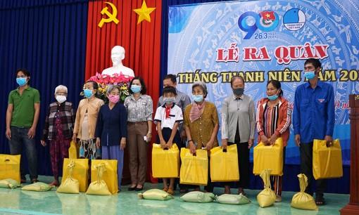 Huyện đoàn Phú Tân ra quân Tháng Thanh niên năm 2021