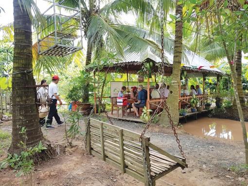 Phát triển du lịch 3 xã cù lao Giêng
