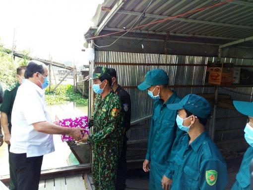 Kết luận của Chủ tịch UBND tỉnh Nguyễn Thanh Bình tại buổi họp kiểm tra công tác phòng, chống dịch COVID-19 tại các chốt biên phòng trên địa bàn huyện An Phú