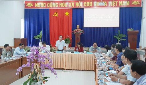 HĐND tỉnh An Giang giám sát công tác chuẩn bị bầu cử tại huyện Phú Tân