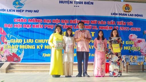 """Giao lưu chuyên đề về giới và phong trào """"Hai giỏi"""" tại huyện Tịnh Biên"""