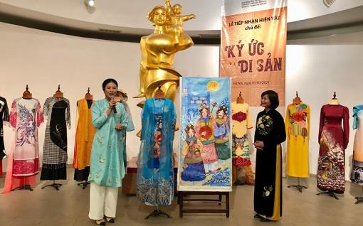 Tôn vinh áo dài Việt Nam qua câu chuyện của hiện vật