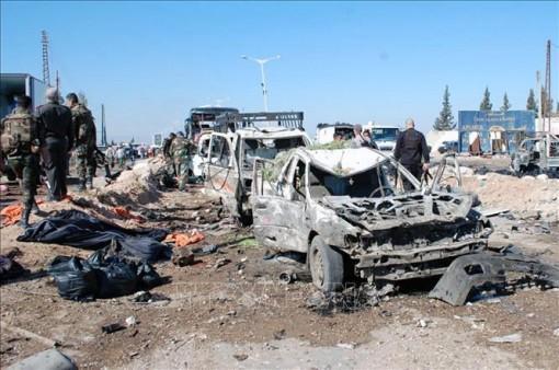 Nổ mìn gây nhiều thương vong tại miền Trung Syria