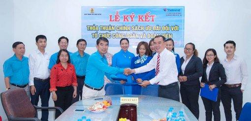 TP. Long Xuyên ký kết thực hiện các chính sách ưu đãi đối với công đoàn