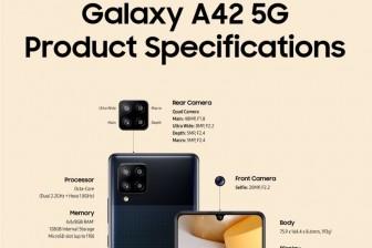 Samsung tung ra mẫu điện thoại thông minh 5G giá rẻ
