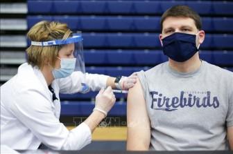 31 triệu người Mỹ đã được tiêm vaccine ngừa COVID-19