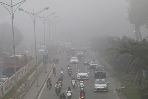 Bắc Bộ nồm ẩm và sương mù