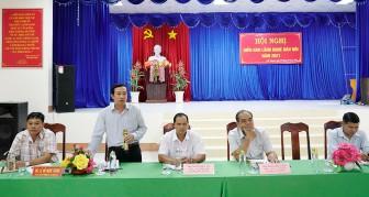 Lãnh đạo huyện Châu Thành khẳng định không có chủ trương di dời chợ Cần Đăng
