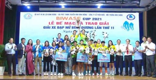 Giải xe đạp nữ Bình Dương lần thứ XI năm 2021 - Cúp Biwase: An Giang thu tóm các danh hiệu cao quý