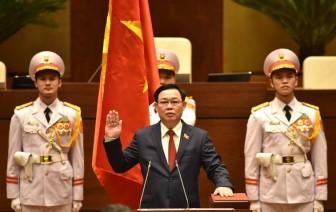 Đồng chí Vương Đình Huệ tuyên thệ nhậm chức Chủ tịch Quốc hội
