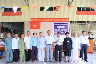Đại hội đại biểu Hội Mái ấm tình thương huyện Châu Thành lần II (nhiệm kỳ 2020-2025)