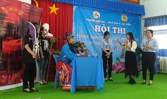 Hào hứng Hội thi tuyên truyền cải cách hành chính huyện Tri Tôn