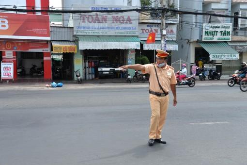 Ra quyết định xử phạt hành chính 668 trường hợp vi phạm trật tự an toàn giao thông