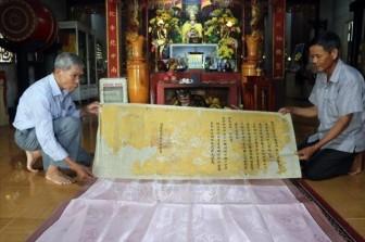 Gìn giữ 'báu vật' linh thiêng của làng quê xứ Huế
