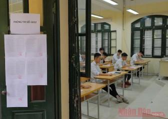 Thí sinh bắt đầu đăng ký dự thi tốt nghiệp THPT từ ngày 27-4