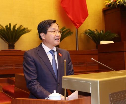 Đồng chí Lê Minh Khái và Lê Văn Thành được Quốc hội bầu giữ chức Phó Thủ tướng Chính phủ