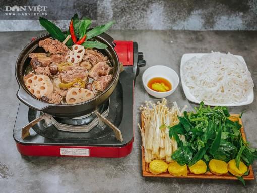 Đổi món với vịt om sấu nấu cùng củ sen và nước dừa