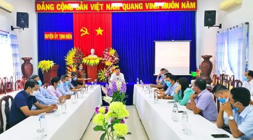 Tịnh Biên: Họp mặt cán bộ chủ chốt người dân tộc thiểu số Khmer nhân dịp Tết cổ truyển Chol Chnam Thmay