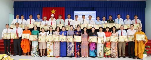 HĐND huyện Châu Thành tổng kết hoạt động nhiệm kỳ 2016-2021