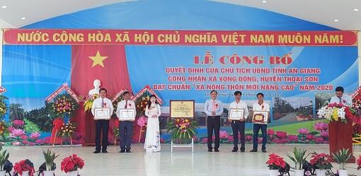 Nông thôn mới nâng cao ở xã Vọng Đông!