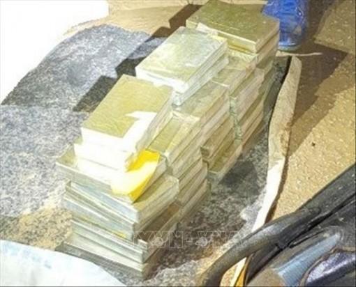 Phá chuyên án ma túy lớn ở Cao Bằng, thu giữ 40 bánh heroin