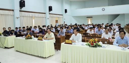 Hội nghị triển khai lập quy hoạch tỉnh An Giang thời kỳ 2021-2030, tầm nhìn đến năm 2050
