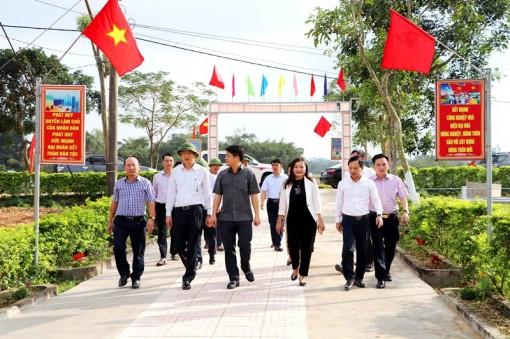 Xây dựng nông thôn mới ở Vũ Quang: Khi cái khó ló cái khôn