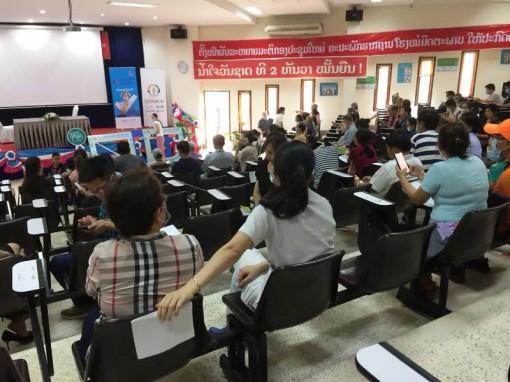 Lào tiếp tục thắt chặt các biện pháp phòng, chống Covid-19