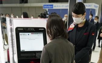 Nhật Bản thử nghiệm nhận dạng khuôn mặt trên chuyến bay quốc tế