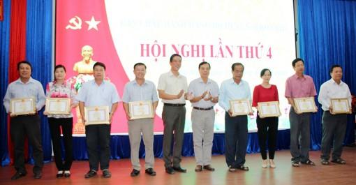 Chợ Mới: Khen thưởng 8 tập thể có thành tích xuất sắc trong thực hiện 4 đề án
