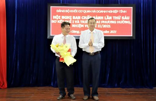 Đảng bộ Khối Cơ quan và Doanh nghiệp tỉnh An Giang sơ kết quý I và triển khai phương hướng nhiệm vụ quý II-2021