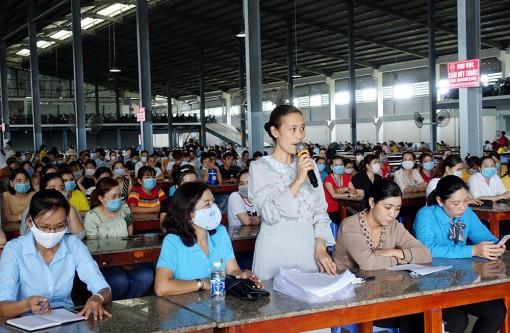 Khởi động Tháng Công nhân ở Long Xuyên