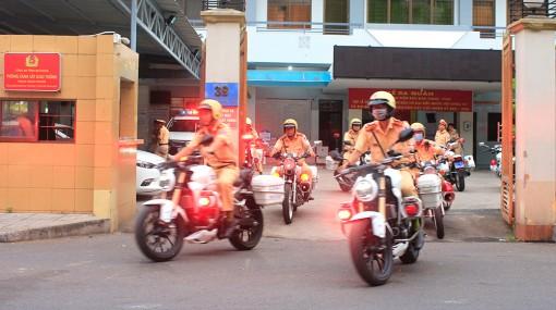 An Giang ra quân thực hiện cao điểm đảm bảo an ninh trật tự, trật tự an toàn giao thông phục vụ các ngày lễ và bầu cử