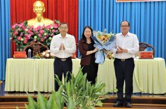 Phó Chủ tịch nước, Bí thư Tỉnh ủy An Giang Võ Thị Ánh Xuân gặp gỡ cán bộ chủ chốt của tỉnh