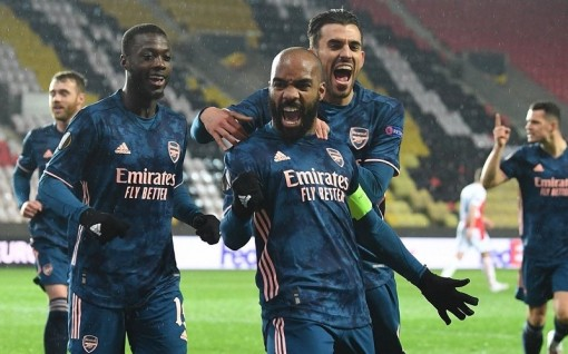 Thắng đậm Slavia Prague, Arsenal vào bán kết Europa League