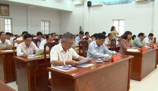 Phú Tân có 60 vị ứng cử đại biểu HĐND huyện khóa XII